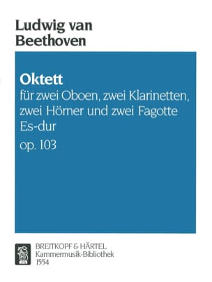 BEETHOVEN - Octet Es-Dur Op. 103 - Sheet Music - di-arezzo.co.uk