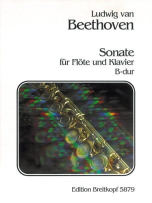 BEETHOVEN - Sonata B-Dur - Flöte Klavier - Partition - di-arezzo.co.uk