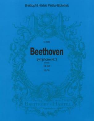 Ludwig van Beethoven - Symphonie, Nr. 3 Es-dur op. 55 - Partition - di-arezzo.fr