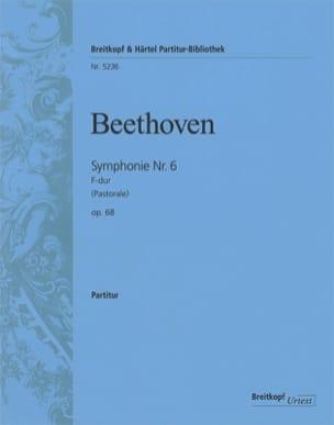 Ludwig van Beethoven - Symphonie Nr. 6 Pastorale F-dur op. 68 - Partition - di-arezzo.fr