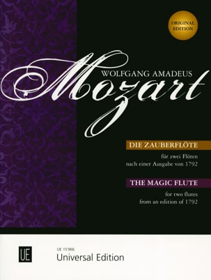 MOZART - Die Zauberflöte - 2 Flöten - Sheet Music - di-arezzo.co.uk