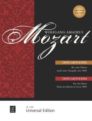 Don Giovanni - 2 Flöten o. Violinen MOZART Partition laflutedepan