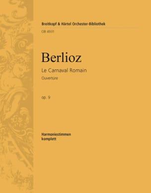 BERLIOZ - Le Carnaval Romain - Partition - di-arezzo.fr