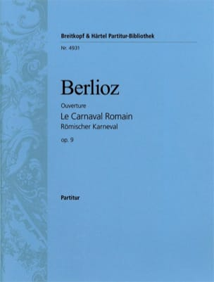 BERLIOZ - The Roman Carnival Opening - Driver - Sheet Music - di-arezzo.co.uk
