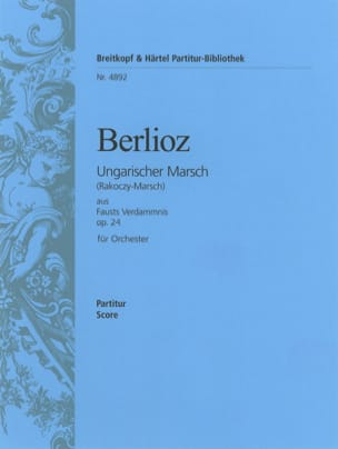 BERLIOZ - Hungarian March op. 24 - Driver - Sheet Music - di-arezzo.co.uk