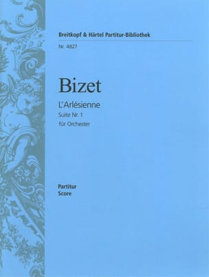 BIZET - The Arlésienne-Suite n ° 1 - Driver - Sheet Music - di-arezzo.co.uk