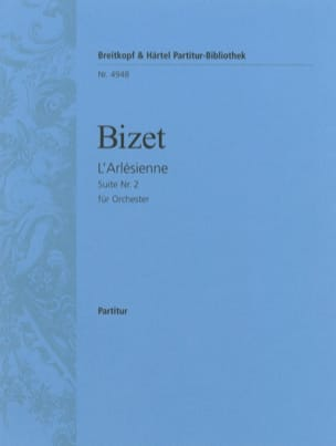 Georges Bizet - L'Arlésienne-Suite n° 2 – Conducteur - Partition - di-arezzo.fr