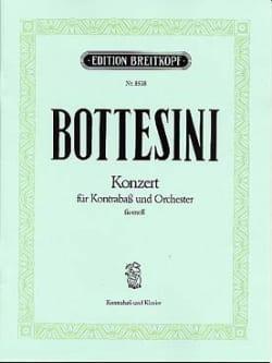 Giovanni Bottesini - Konzert Fis-Moll – Kontrabass - Partition - di-arezzo.fr
