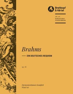Johannes Brahms - Ein Deutsches Requiem, Op. 45 - Partition - di-arezzo.fr