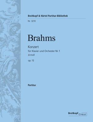 BRAHMS - Klavierkonzert Nr. 1 d-moll op. 15 - Partition - di-arezzo.fr
