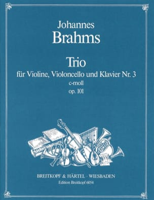 BRAHMS - Klaviertrio Nr. 3 c-moll op. 101 - Stimmen - Sheet Music - di-arezzo.co.uk