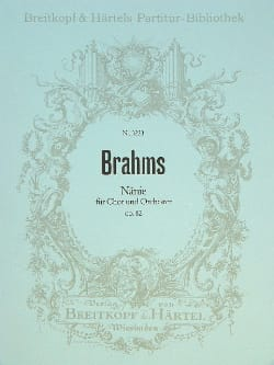 BRAHMS - Nänie op. 82 - Sheet Music - di-arezzo.co.uk