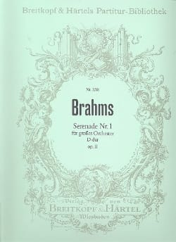 BRAHMS - Serenade, Nr. 1 D-dur op. 11 - Partition - di-arezzo.fr