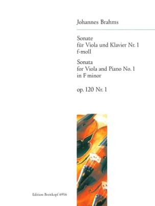 BRAHMS - Sonata n. ° 1 f-moll, op. 120 n ° 1 - Partitura - di-arezzo.es