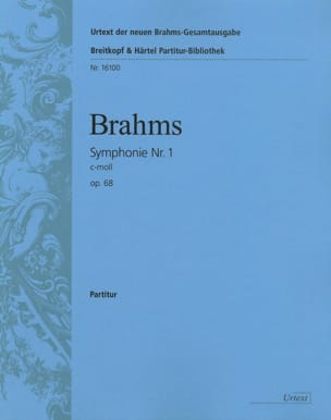 BRAHMS - Symphony No. 1 C-Moll Op. 68 - Sheet Music - di-arezzo.co.uk