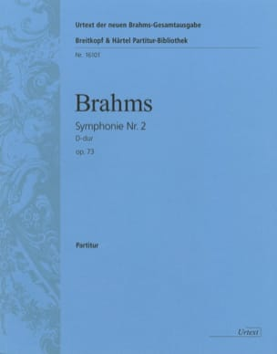 BRAHMS - Symphony No. 2 D-Dur Op. 73 - Conductor - Sheet Music - di-arezzo.co.uk
