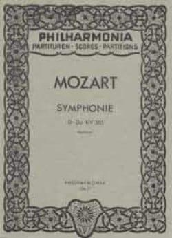 Wolfgang Amadeus Mozart - Symphonie Nr. 35 D-Dur Haffner KV 385 – Partitur - Partition - di-arezzo.fr