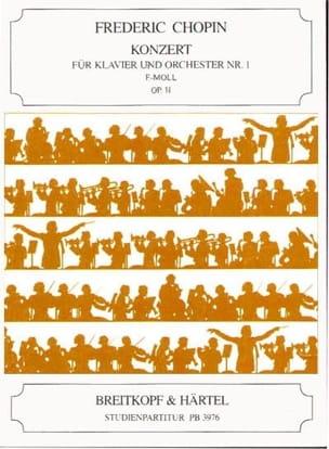 CHOPIN - Klavierkonzert Nr. 1 E-Moll, Op. 11 - Sheet Music - di-arezzo.co.uk