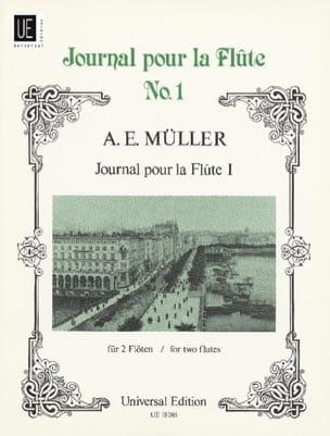 August Eberhard Müller - Journal pour la flûte 1 – 2 Flöten - Partition - di-arezzo.fr