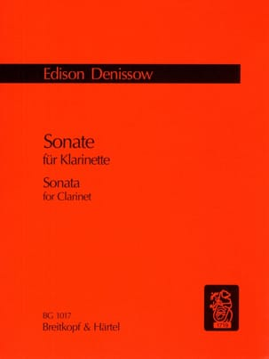 Sonate - Clarinette Seule Edison Denisov Partition laflutedepan