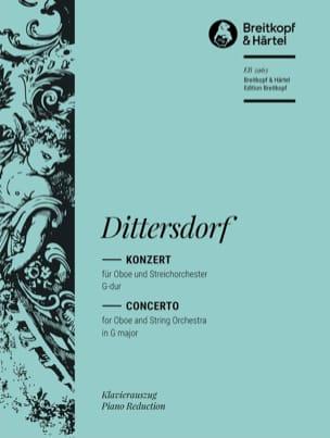 Carl Ditters von Dittersdorf - Oboenkonzert G-Dur - Oboe Klavier - Partition - di-arezzo.fr