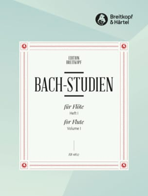 BACH - Bach-Studien für Flöte - Heft 1 - Sheet Music - di-arezzo.co.uk