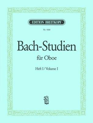 Johann Sebastian Bach - Bach-Studien für Oboe – Heft 1 - Partition - di-arezzo.fr