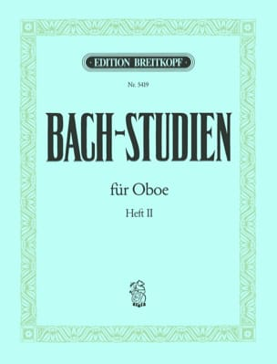 BACH - Bach-Studien for Oboe - Heft 2 - Sheet Music - di-arezzo.co.uk