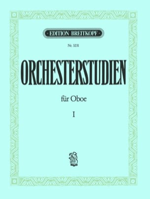 Walter Heinze - Orchesterstudien Für Oboe Volume 1 - Sheet Music - di-arezzo.co.uk