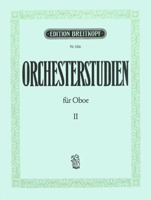 Walter Heinze - Orchesterstudien Für Oboe Vol.2 - Partition - di-arezzo.fr