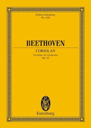BEETHOVEN - Coriolan, Ouverture - Partition - di-arezzo.fr