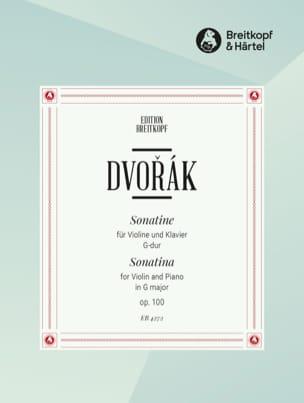 Antonin Dvorak - Sonatine G-Dur op. 100 - Partition - di-arezzo.fr