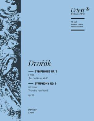 Symphonie Nr. 9 E-moll op. 95 - Partitur DVORAK Partition laflutedepan