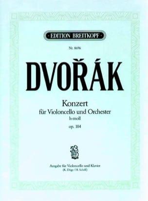 Antonin Dvorak - Concerto Pour Violoncelle Si Mineur Op. 104 - Partition - di-arezzo.fr