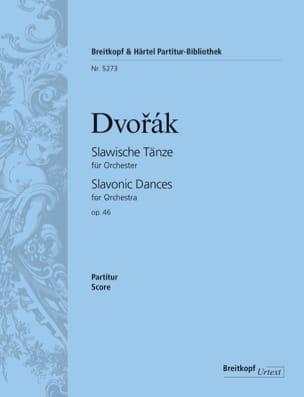 Slawische Tänze Op. 46 - Antonin Dvorak - Partition - laflutedepan.com