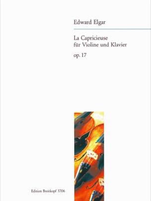 La capricieuse op. 17 ELGAR Partition Violon - laflutedepan