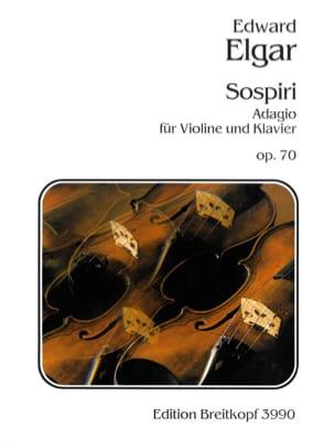 Edward Elgar - Sospiri op. 70 – Violon - Partition - di-arezzo.fr