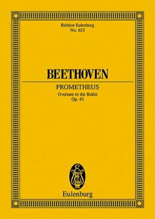 BEETHOVEN - Die Geschöpfe des Prometheus, op. 43 - Partition - di-arezzo.fr