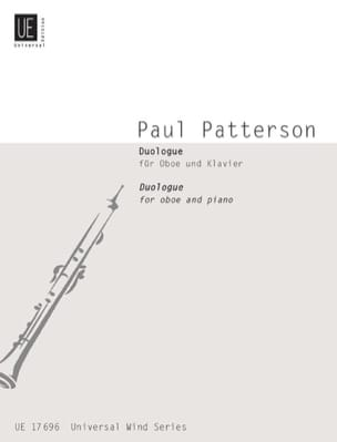 Paul Patterson - Duologue – Oboe and piano - Partition - di-arezzo.fr
