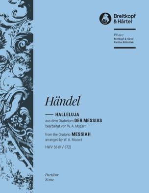 HAENDEL - Halleluja - Partition - di-arezzo.fr