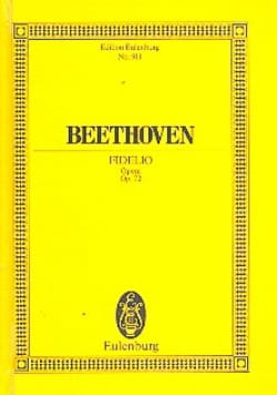 Fidelio Opus 72 - Ludwig van Beethoven - Partition - laflutedepan.com