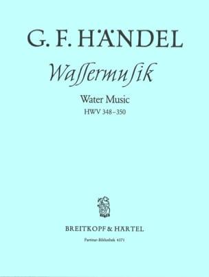 Georg Friedrich Haendel - Wassermusik F-Dur HWV 348-350 – Partitur - Partition - di-arezzo.fr