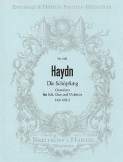 Joseph Haydn - Die Schöpfung Hob XXI: 2 - Partition - di-arezzo.fr