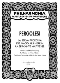 Giovanni Battista Pergolesi - The Serva Padrona - Partitur - Sheet Music - di-arezzo.co.uk
