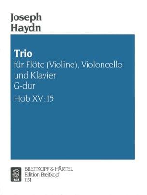 Trio G-Dur Hob. 15 n° 15 -Flöte Violine, Violoncello u. Klavier laflutedepan