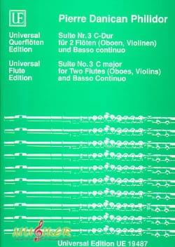 Suite Nr. 3 C-Dur - 2 Flöten Oboen, Violinen u. B.C. - laflutedepan.com