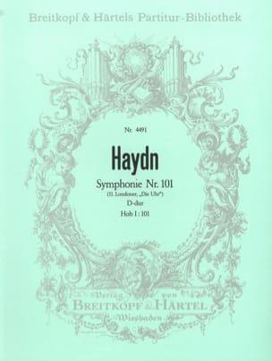 Joseph Haydn - Symphonie Nr. 101 D-Dur – Partitur - Partition - di-arezzo.fr