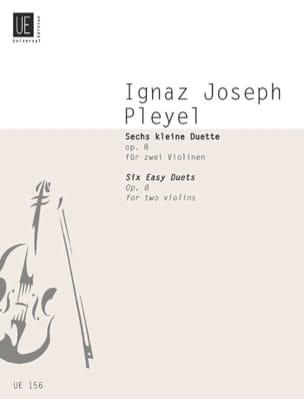 6 Petits duos op. 8 Ignaz Pleyel Partition Violon - laflutedepan