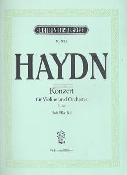 HAYDN - Violinkonzert B-Dur Hob. 7a : B 2 - Partition - di-arezzo.fr