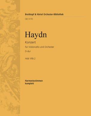 Joseph Haydn - Violoncellokonzert D-Dur VIIb: 2 - Partition - di-arezzo.fr